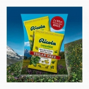 润喉糖Ricola Sugar Free Lemon Mint Cough Drops, 210 C