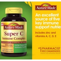 Nature Made Super C Immune Complex 900 mg., 200 Ta