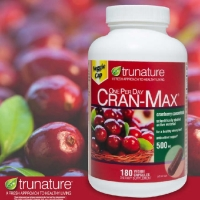 蔓越莓胶囊 500mg*180粒 trunature CRAN-MAX Cranberry 500