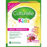 儿童益生菌Culturelle Kids Chewables Probiotic, 60 Table