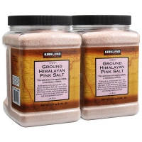 粉盐Kirkland Signature Ground Himalayan Pink Salt, 5