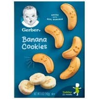 嘉宝香蕉饼干 Gerber Banana Cookies - 5oz