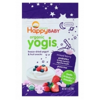 禧贝喜贝贝喜酸奶溶豆辅食Happy baby Yogis Mixed Berry Organic Y