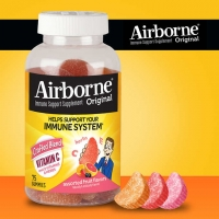 AirborneVC软糖 免疫增强片 Airborne Immune Support Supplem