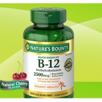 Nature's Bounty B-12 2500 mcg, 300 Quick Dissolve