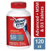 维骨力蓝瓶Move Free (120 count in a bottle), Supports M