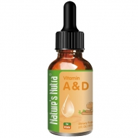 Nature's Nutra Vitamin A&D 2oz 60ml