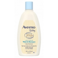 婴儿洗发沐浴 Aveeno Baby Wash and Shampoo - 18oz