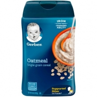 gerber嘉宝米粉一段大米米粉辅食 Gerber Single Grain Rice Baby C