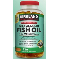 柯克兰 鱼油 Kirkland Signature Wild Alaskan Fish Oil 14
