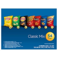 乐事混合薯片Frito Lay Classic Mix Variety Pack 1 oz, 54-