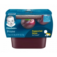 嘉宝西梅果泥一段辅食  Gerber 1st Food Prune-2oz(2ct)