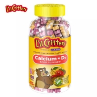 小熊糖钙150粒L'il Critters Calcium Dietary Supplement G